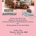 Sixth Annual Sherman's Ice Cream Social – Sunday, June 24th, 2-4pm