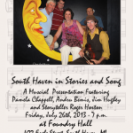 South Haven in Stories and Song, Friday July 26th, 7:30 pm at Foundry Hall