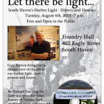 "Tuesday, August 6th, 7 p.m. – ""Let There Be Light"" and ""Terrace Park Anniversary"""