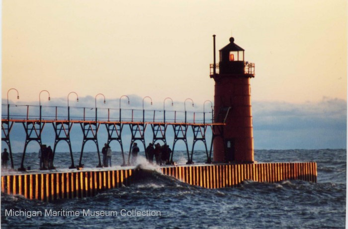 The South Haven Pierhead Light