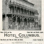 1898 Directory Hotel Columbus