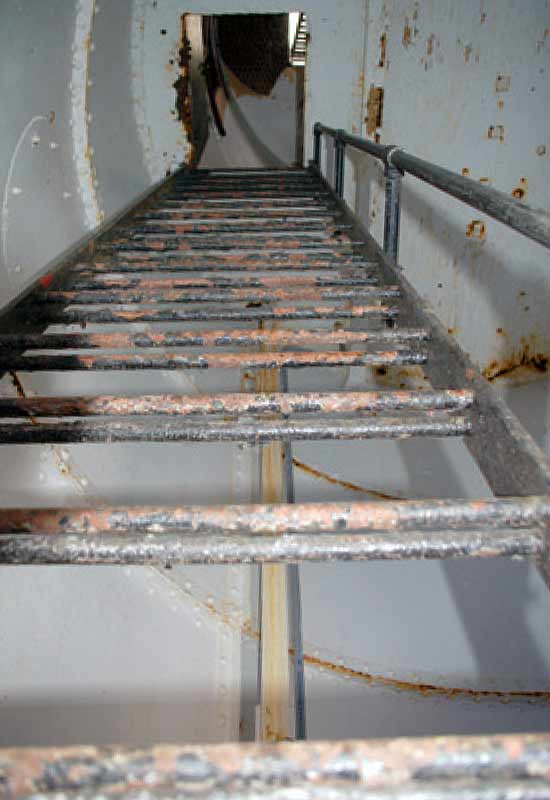 Corroded Stairs