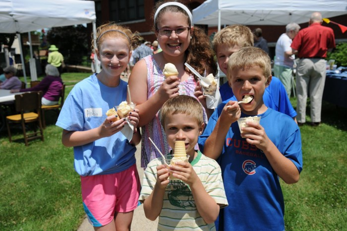 Eleventh Annual Sherman's Old Fashioned Ice Cream Social
