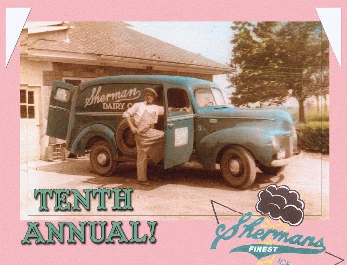 Tenth Annual Sherman's Dairy Old Fashioned Ice Cream Social