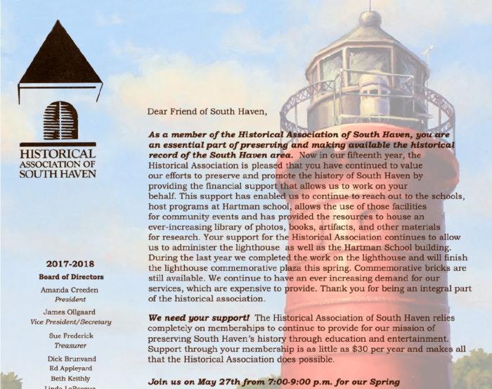 2017 Membership Letter