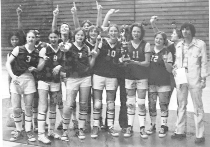 South Haven 1977 State Runner-up Volleyball Team to be Honored