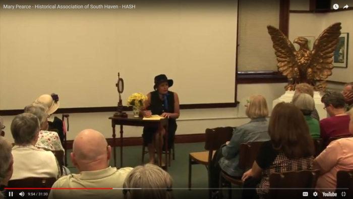 The Life of Mary Pierce – Presentation Video
