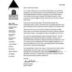 2018 Membership Letter